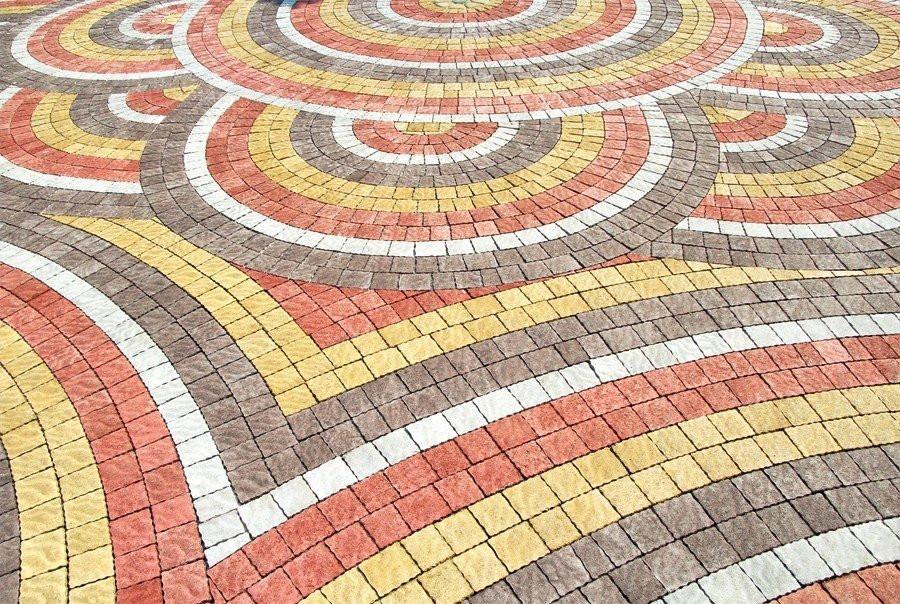 Тротуарная плитка «Австрийский камень»