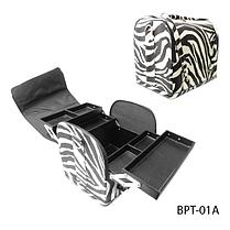 Профессиональный сумка для мастеров маникюра и визажа BPT-01A_LeD