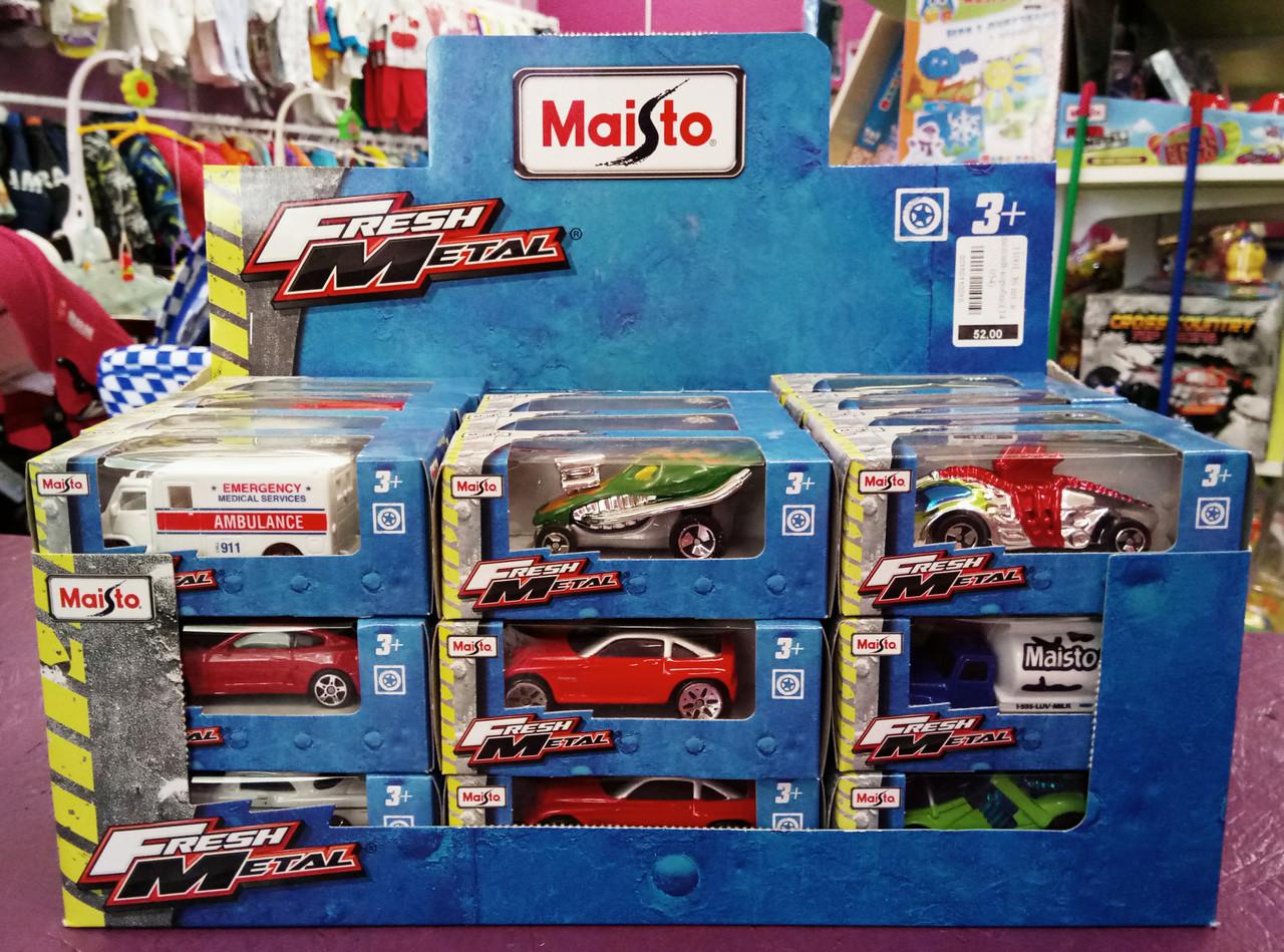 MAISTO Модель авто, іграшкове М1:72, в асортименті