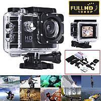 Экшн-камера SJ4000 1080P водонепроницаемая + набор аксессуаров