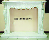 Мраморный камин Granada FB-027W