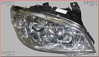 Фара передняя правая, линза, Chery Amulet [до 2012г.,1.5], A15-3772020BB, Aftermarket