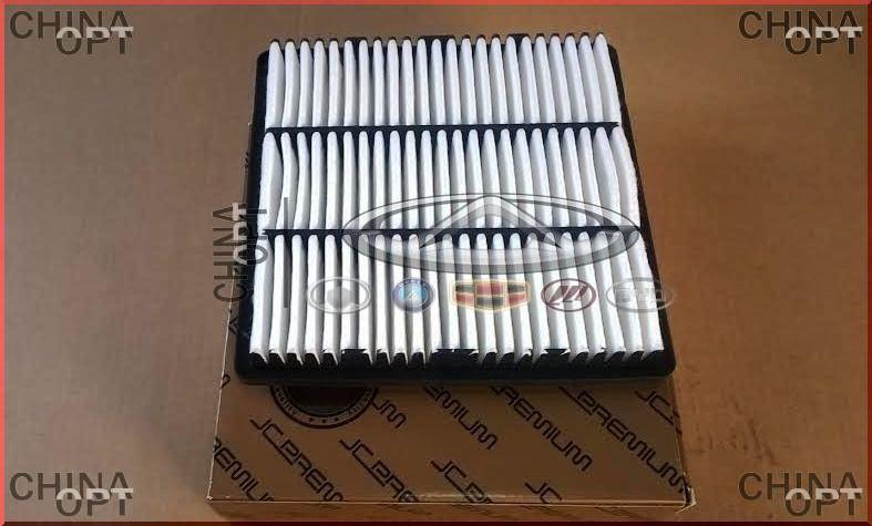 Фильтр воздушный двигателя, с ABS, квадратный, Great Wall Hover [H2,2.4], 1109102-K00, Japan Cars