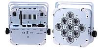 Аккумуляторный радио DMX прожектор POWER light LED PAR 9415W (RGBWA), фото 1