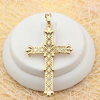 R4-0479 - Позолоченный кулон-крест