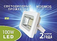 Прожектор светодиодный Kosmos, 100w, ip65