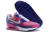 Кроссовки беговые женские Nike Air Max 90 Hyperfuse Peach Blue White