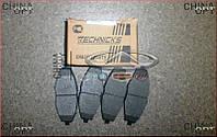 Колодки тормозные передние, Chery QQ [S11, 1.1], S11-3501080, Technics