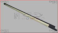 Уплотнитель стекла передней L двери наружный (фетра стекла) Chery Amulet [1.6,-2010г.] A11-5206115 Китай [аftermarket]