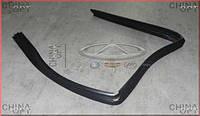 Уплотнительная резинка стекла двери задняя L Chery Amulet [1.6,-2010г.] A11-5206321 Китай [лицензия]