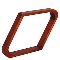 Треугольник ромб Classic дуб коричневый 57 мм