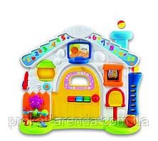 """Розвиваючий, музичний, ігровий Розвиваючий центр від WinFun """"Будиночок для непосиди"""""""
