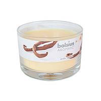 Свеча в стакане Bolsius Aromatic Ваниль 63х90мм
