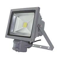 LED COB прожектор Feron LL-834 20W  с датчиков движения
