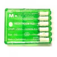 Эндодонтический инструмент н-файлы m-эксес 25мм 15-40 6шт