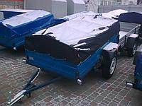 Тент на легковой прицеп палыч 2 * 1,2 ткань рюкзак, фото 1