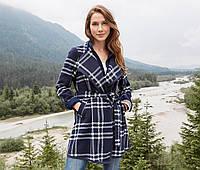 Пальто женское демисезонное большого размера (размер 56)