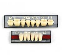 Гарнитур зубной new ace & naperse фронтальная 6шт (искусственные зубы)