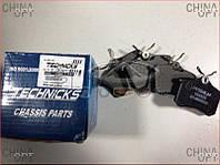 Колодки тормозные задние, дисковые, Chery Eastar [B11,2.4, AT], B11-6BH3502080, Technics