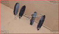 Колодки тормозные передние (cуппорт 6GN) Chery Kimo [S12,1.3,MT] S21-6GN3501080 Китай [оригинал]