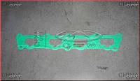 Прокладка впускного коллектора (477F) Chery Elara [1.5, -2011г.] 477F-1008021 Китай [аftermarket]