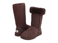 Осенние ботинки женские UGG Classic Tall Brown