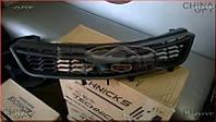 Решетка радиатора (черная, под эмблему Chery) Chery A13 [Forza,HB] A13-8401010 Китай [оригинал]