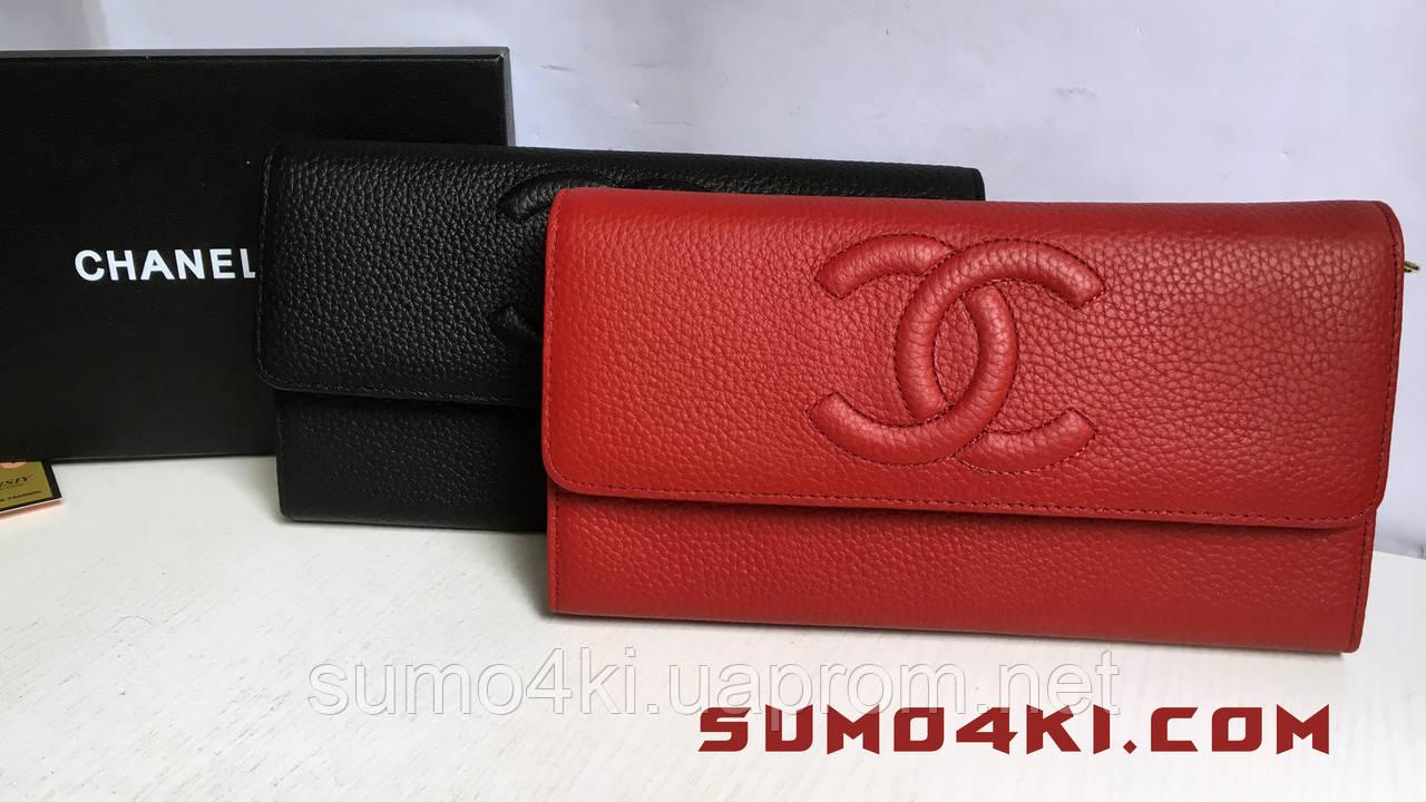 Женский кожаный кошелёк клатч Chanel - Интернет-магазин «Галерея Сумок» в  Одессе 16a52c27b2b