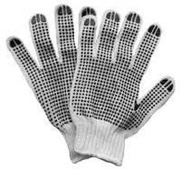 SIGMA Перчатки трикотажные с точечным ПВХ покрытием (манжеты бесшовные) 9221101