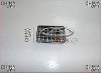 Решетка воздуховода, обдува центральной консоли Chery Amulet [1.6,-2010г.] A15-5305230BH Китай [оригинал]