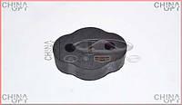 Резинка глушителя, два отверстия, Chery Eastar [B11,2.4, ACTECO], Аftermarket