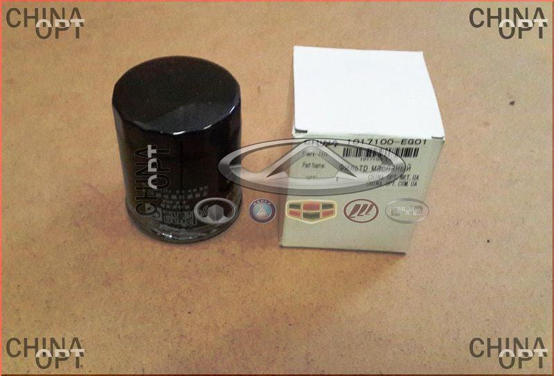 Фильтр масляный, 4G15, Great Wall Voleex [C10], 1017100-EG01, Aftermarket