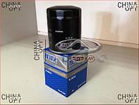 Фильтр масляный (4G63, 4G64, 471Q, Mitsubishi) BYD F3 [1.6, -2010г.] SMD360935 Hexen [Германия]