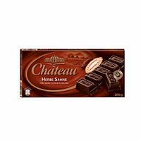 Шоколад Chateau Herbe Sahne (Шато черный шоколад) 200 г. Германия