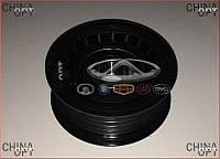 Ролик генератора, натяжной, без натяжителя (481*, 484H, ACTECO) Chery Tiggo [1.6, -2012г.] A11-8111200CAK1 JP Group [Германия]