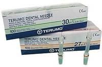 Иглы одноразовые стоматологические terumo 100шт