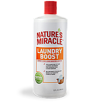 Nature's Miracle Laundry Boost Stain & Odor Remover Additive Для стиральных машин для удаления пятен, запахов