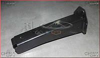 Кронштейн переднего бампера L, центральное крепление, металл, Chery Elara [до 2011г, 1.5], A21-2803703, Original parts