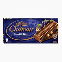 Шоколад Chateau Trauben Nuss (Шато изюм и лесной орех) 200 г. Германия