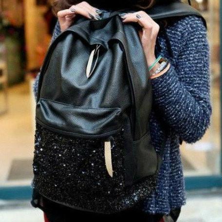 Молодежный рюкзак с блестками