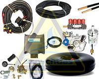 Полный комплект ГБО евро 4 Digitronic MP32 (платформа АЕВ)  ред. Alaska форс. Valtek (Б/У баллон)