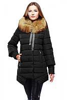 Черная классическая женская курточка