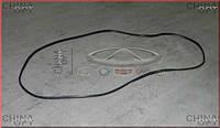 Уплотнитель заднего стекла (внешний) Chery Amulet [1.6,-2010г.] A11-5206215 Китай [оригинал]