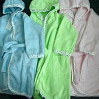 Халаты детские махровые размер 92