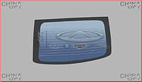 Стекло заднее, 5-ой двери Chery QQ [S11, 1.1] S11-5206020 Китай [лицензия]