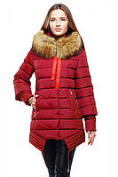 Женская зимняя куртка красивого кроя