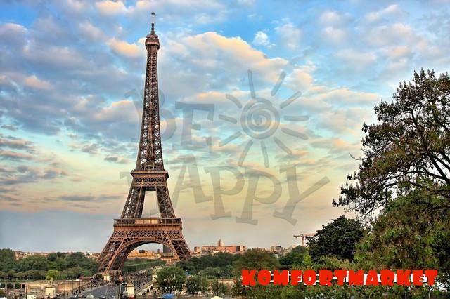 "Фотообои: ""Башня Эйфеля 4"""