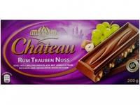 Шоколад Chateau Rum Trauben Nuss (Шато ром, изюм, дробленый орех)