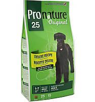 Pronature Original (Пронатюр) DELUXE Adult-корм для собак всех пород с чувств. пищеварением(курица/рис), 7.5кг
