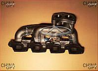 Коллектор выпускной (480EF, до 2010г.г.) Chery Amulet [1.6,-2010г.] 480EF-1008111 Китай [оригинал]